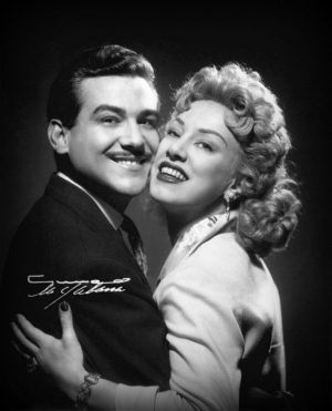Rosa Fornes y Armando Bianchi