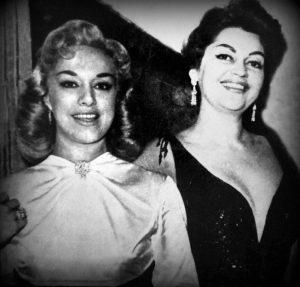 Rosa Fornes y Maria de los Angeles Santana