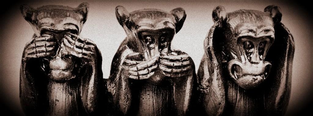 monos sordos ciegos mudos