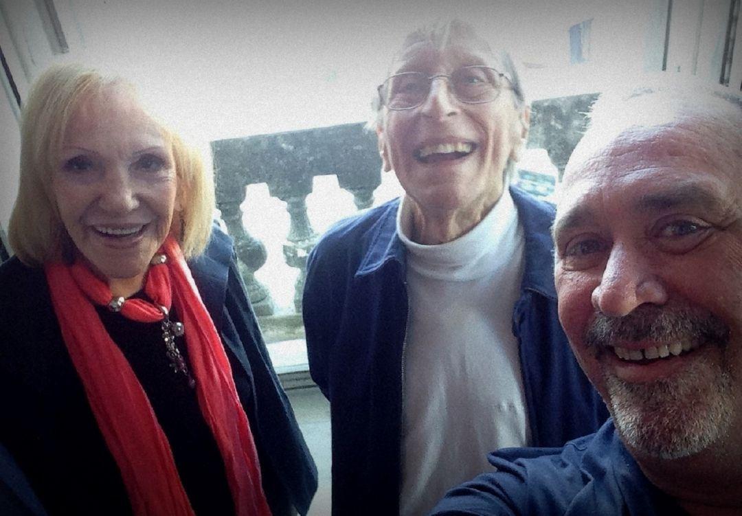 Jorge Abello, Veronica Lynn y Enrique Pineda Barnet